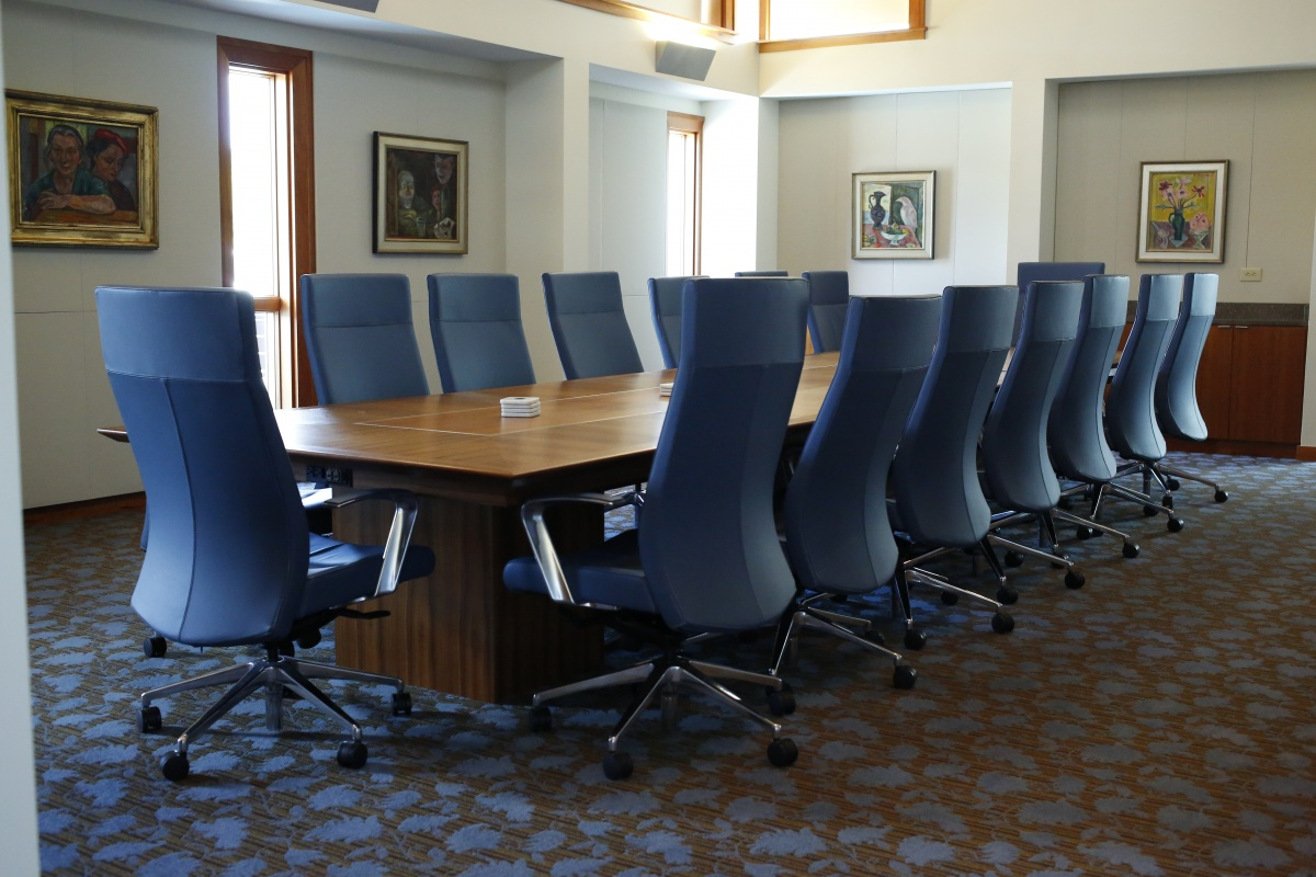 Conference Spaces - 16 foot conference room table