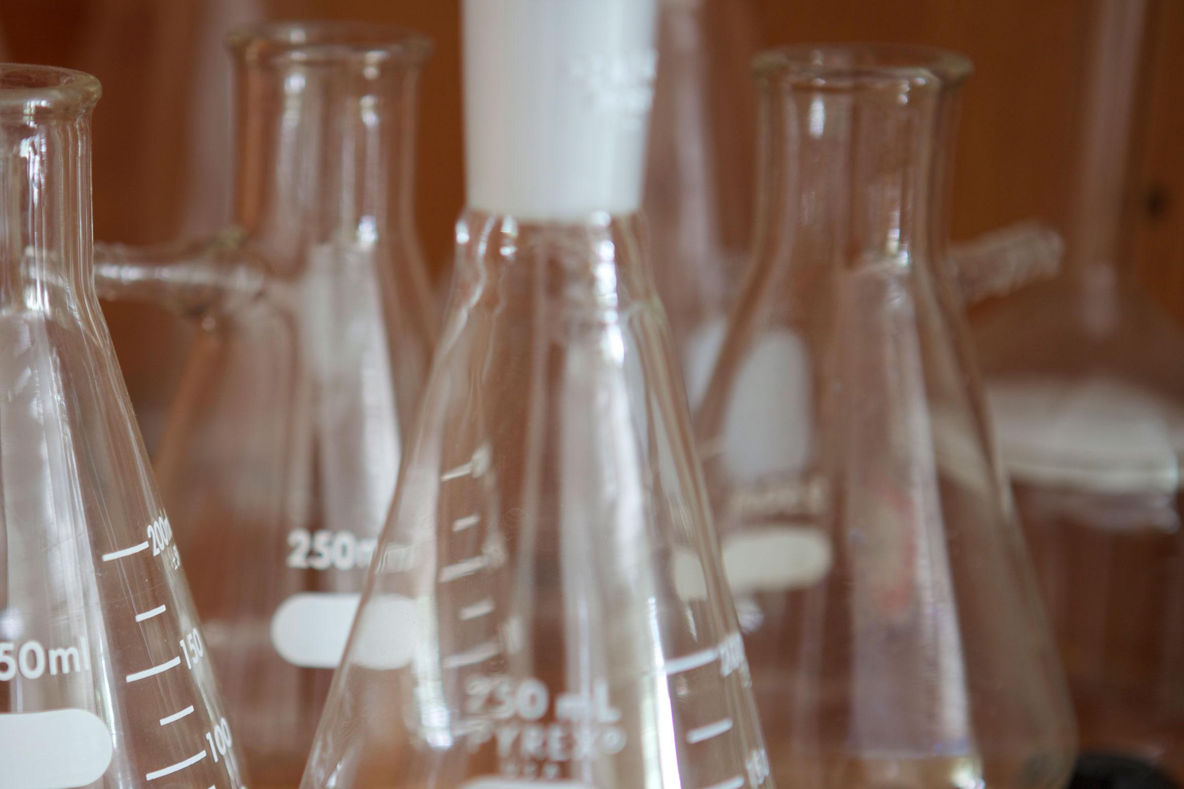 chemistry beakers