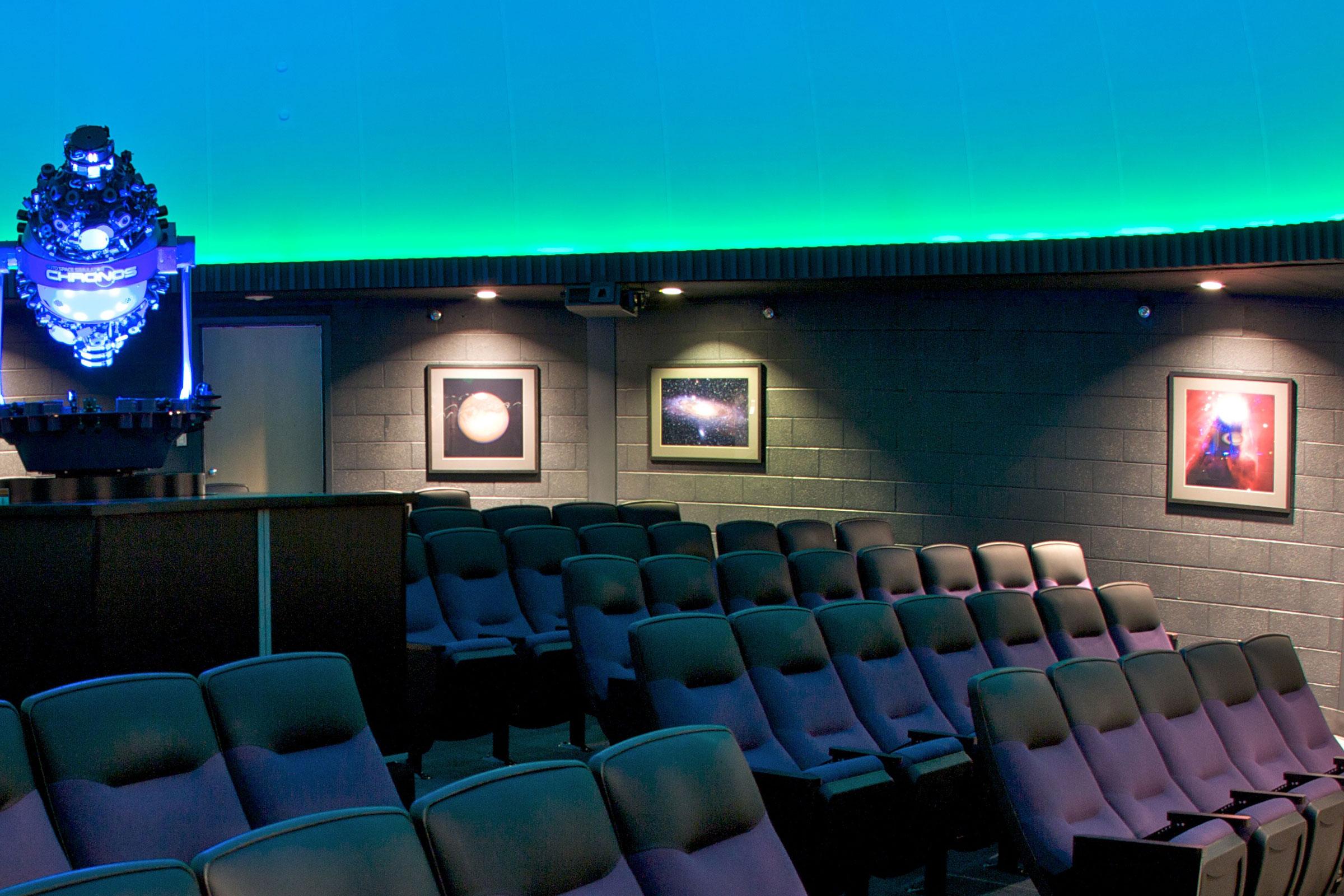 planetarium seating