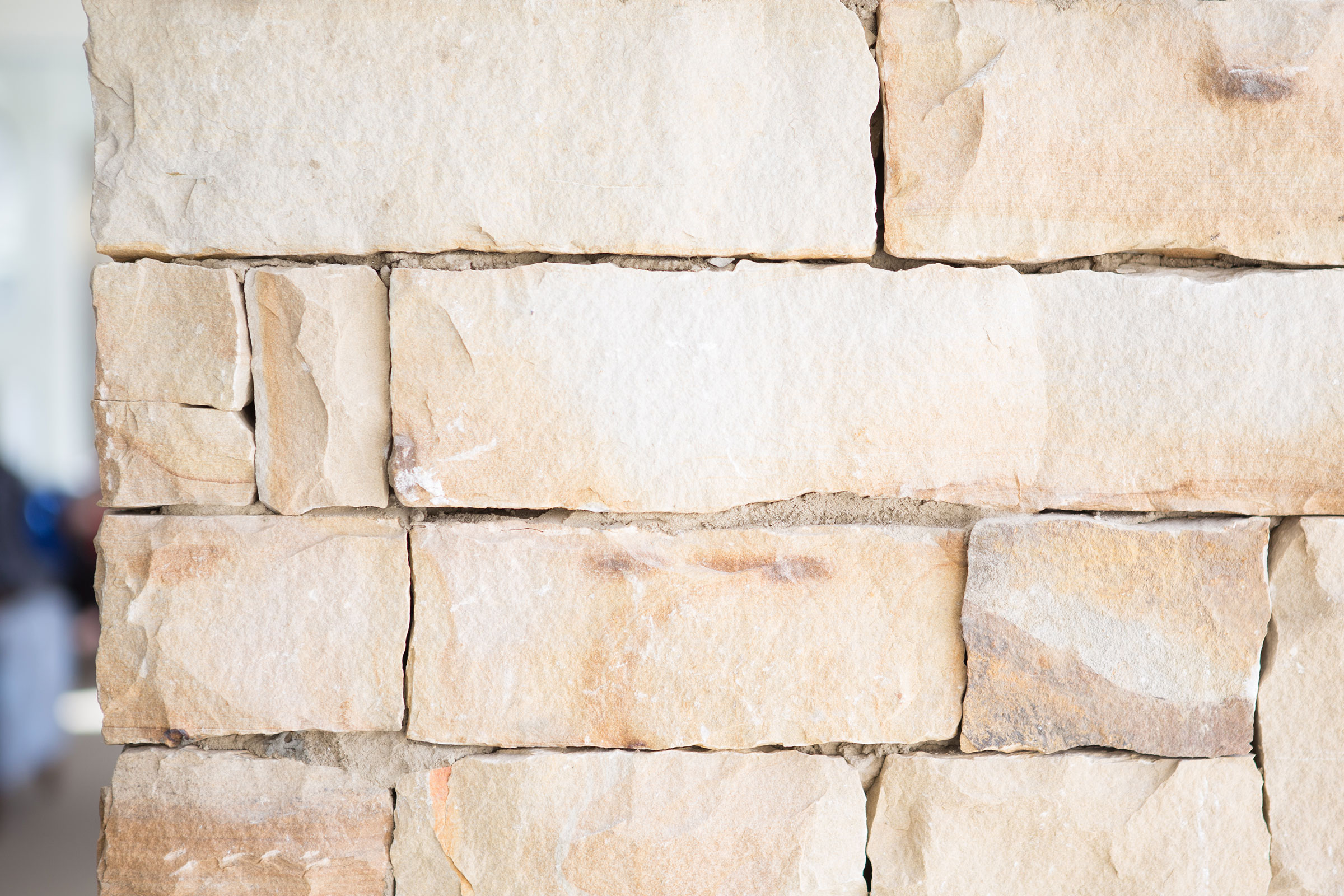 brick column close up