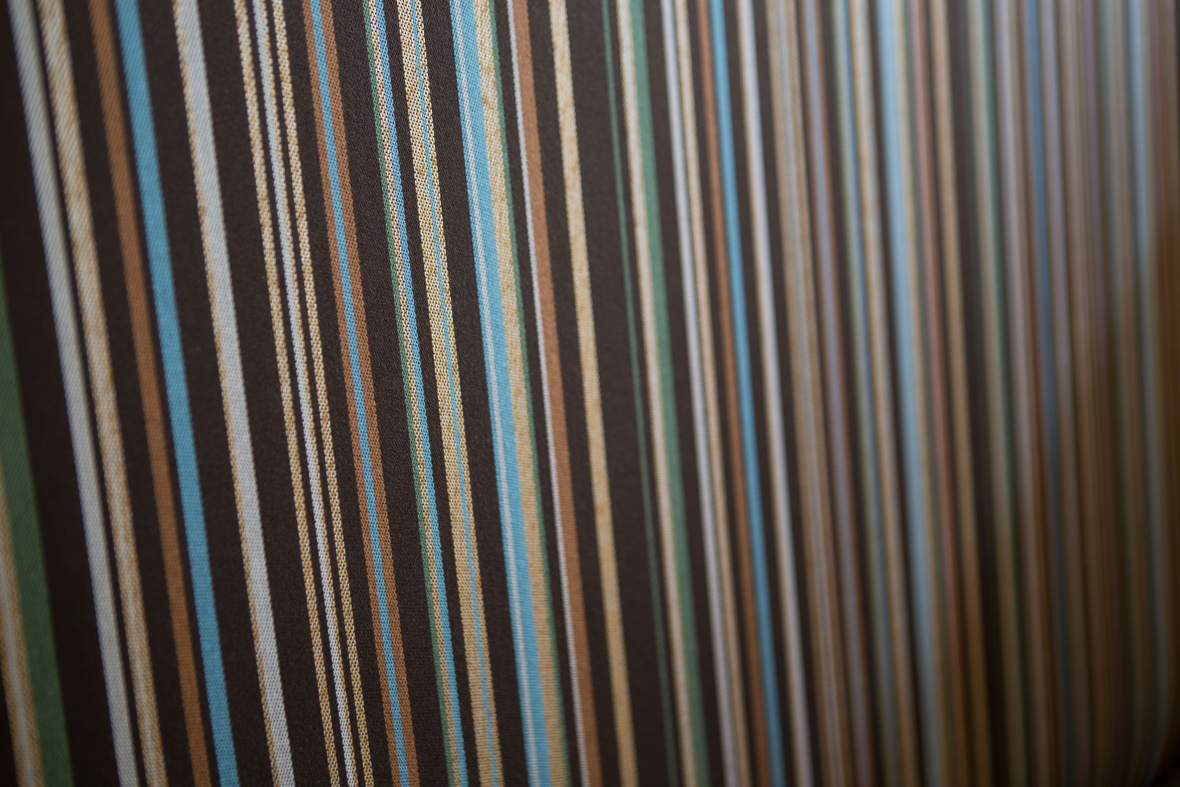 chair stripes pattern close up