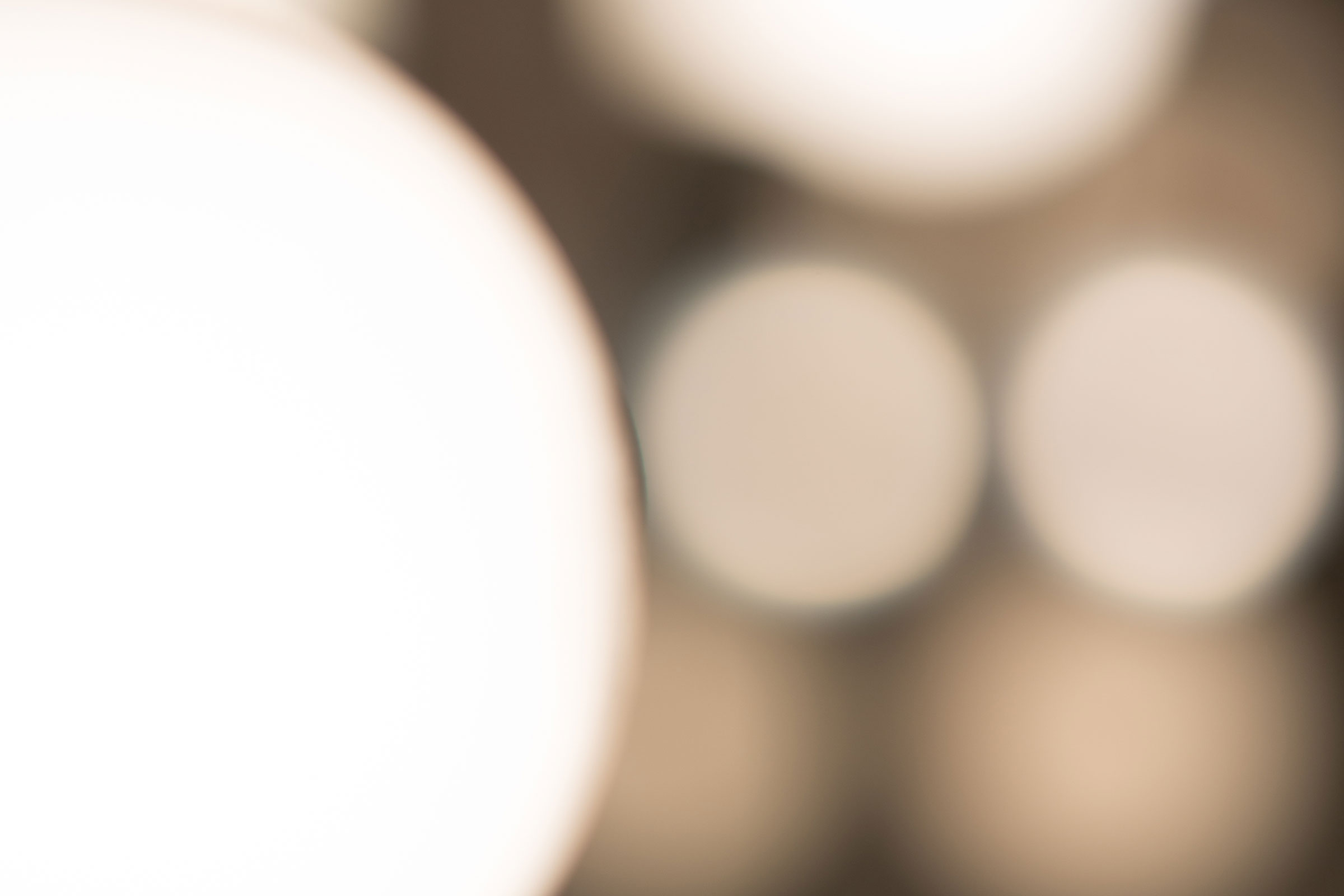 blurred lights close up