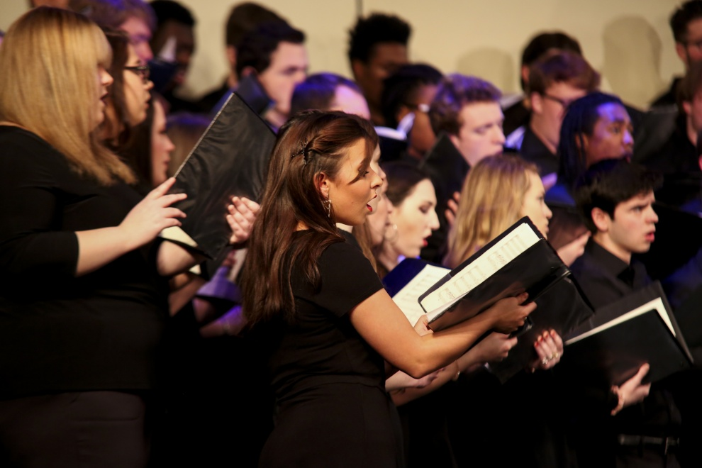 The YHC Concert Choir performed at last year's Fall Choral Concert.