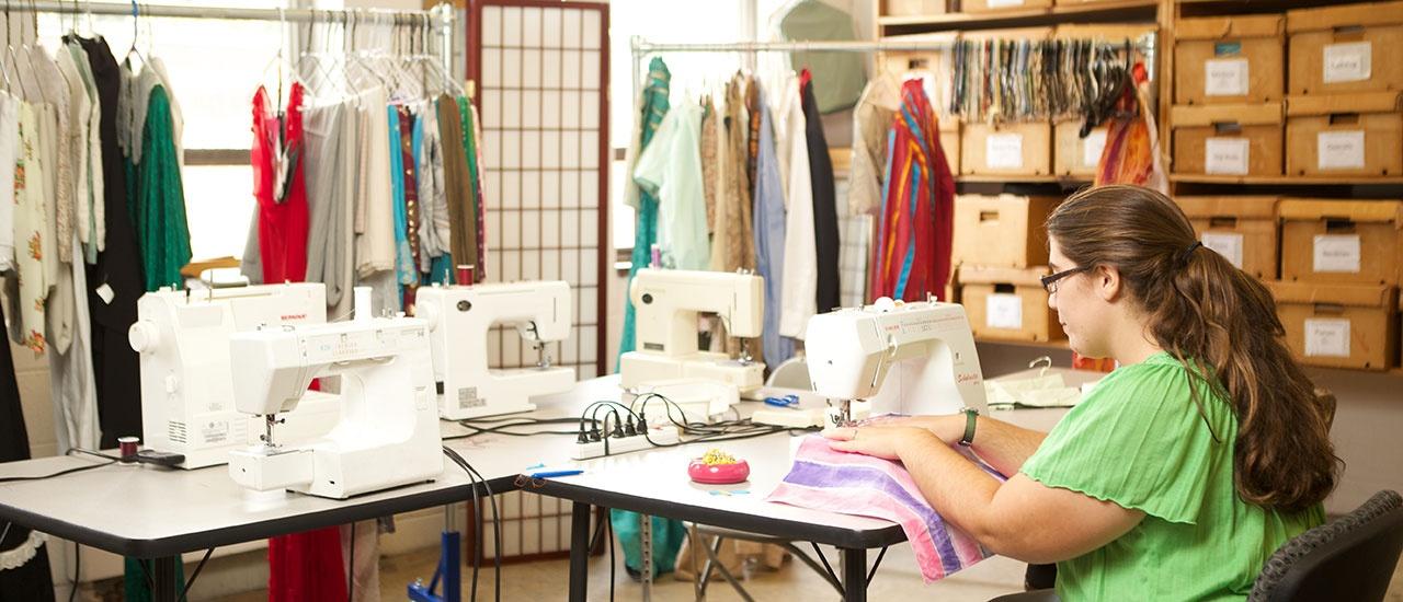 fine arts costume designer