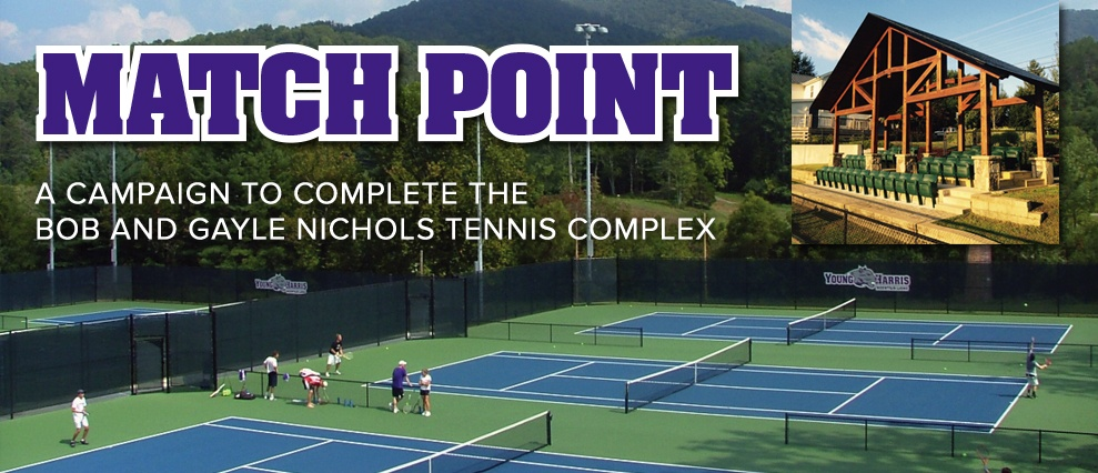 match point giving carousel poster