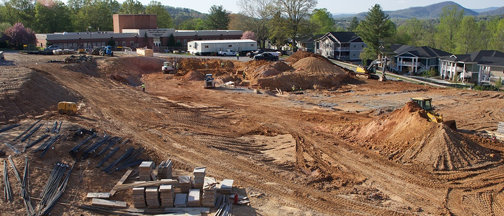 growth campus center construction