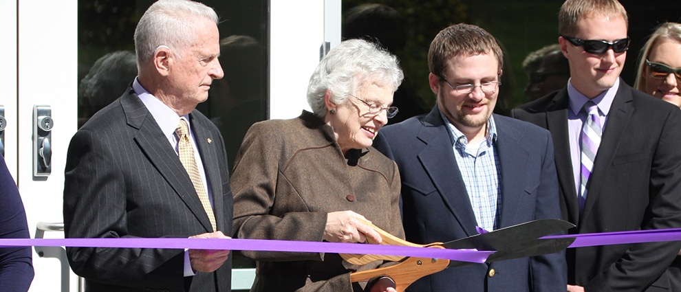 miller library ribbon cutting