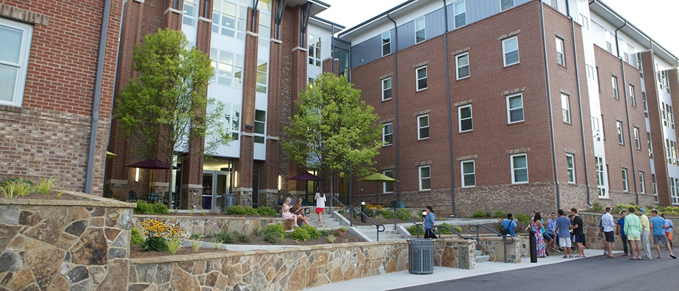 campus building outside