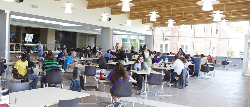 rollins campus center inside tables