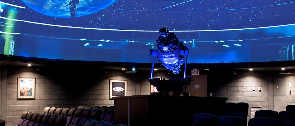 rollin planetarium equipment