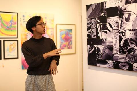 Spring Senior Thesis Art Exhibition