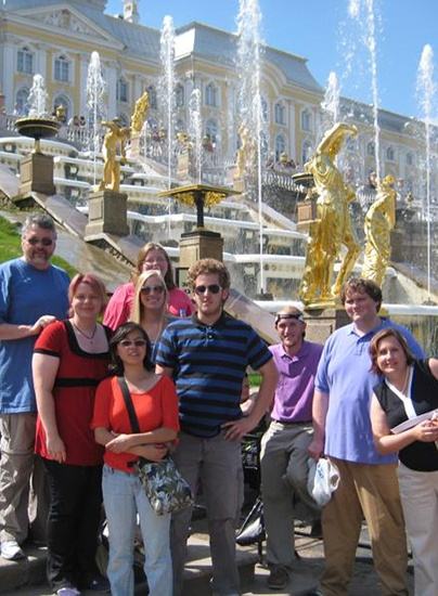 study abroad students in russia