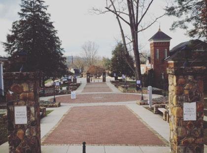 campus path