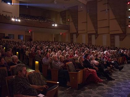Glenn McGinnis Hall Audience