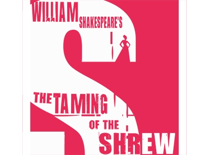 William Shakespeare's The Taming of the Shrew poster