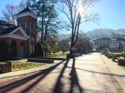 campus street
