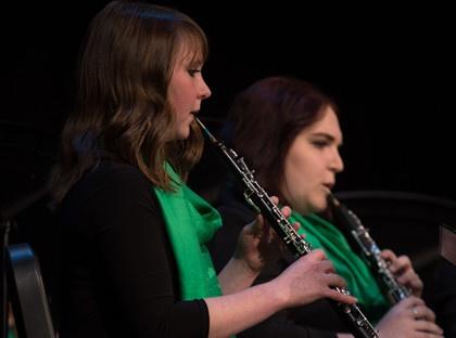 YHC concert band musicians