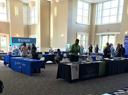 graduate school fair at YHC