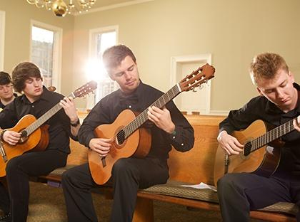 guitar ensemble musicians