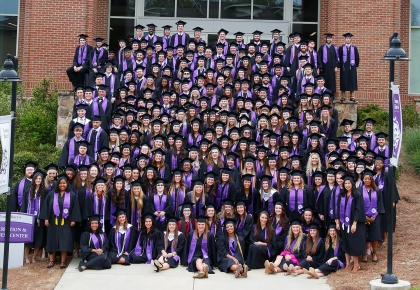 Young Harris College Confers 261 Degrees During Commencement Ceremony