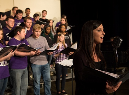 The Young Harris College Division of Fine Arts will present the wildly entertaining Acapalooza!