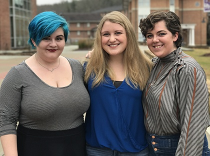 Five Young Harris College students were selected as finalists in the Annual Agnes Scott Writers' Festival Contest.