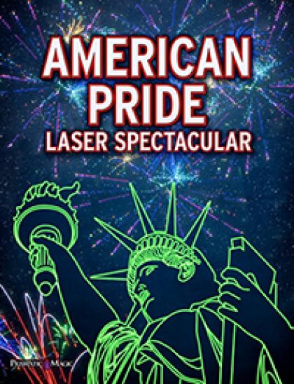 "Rollins Planetarium will present ""Summer Laser Jam"" and ""American Pride Laser Spectacular Cosmic Concert"