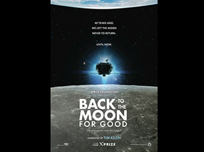 "The O. Wayne Rollins Planetarium at Young Harris College will present ""Back to the Moon for Good"" on Friday, Sept. 15 and Sept. 22."