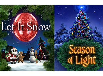 "Rollins Planetarium to Present Holiday Favorites ""Let It Snow"" and ""Season of Light"""