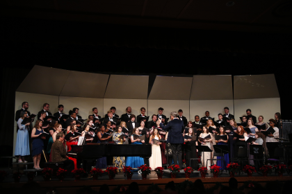 "Students perform at the 2017 ""Christmas at YHC"" concert."