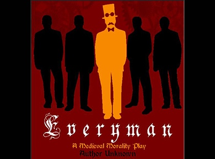 "Theatre Young Harris will present Medieval morality play ""Everyman"" in Dobbs Theatre of Goolsby Center on the YHC campus."