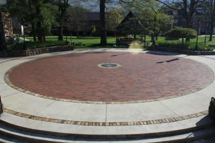 College Plaza and Seal