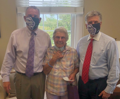 Hiawassee's Ethel Winters Honors Late Husband with Gift to YHC