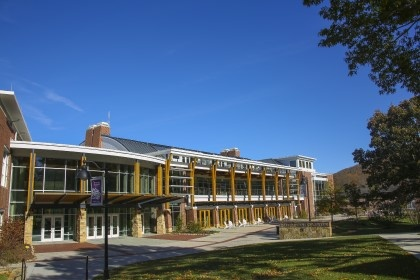 The Rollins Campus Center at Young Harris College