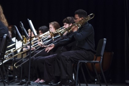 Young Harris College's Concert Band