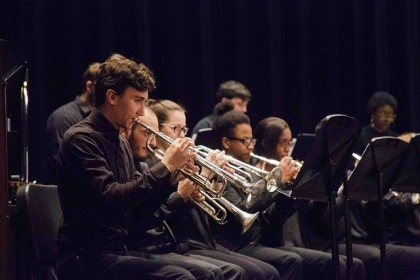 The Young Harris College Concert Band will perform a free concert as part of the upcoming YHC High School Honor Band Clinic.
