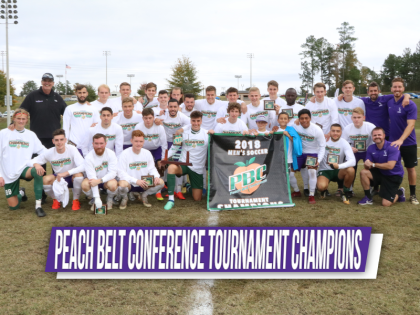 YHC Men's Soccer Team Wins PBC Tournament