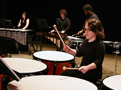 Young Harris College presents concert featuring percussion ensemble.