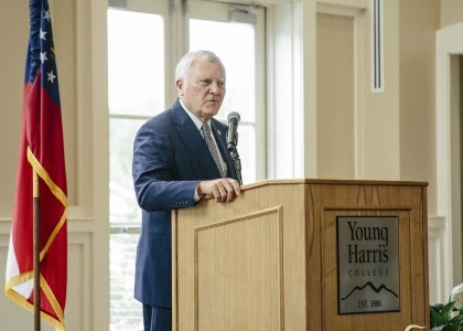 Gov. Deal speaking at YHC event