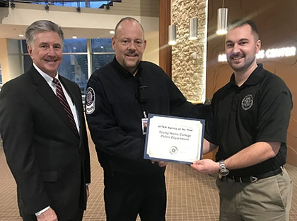 2017 Police Agency of the Year award