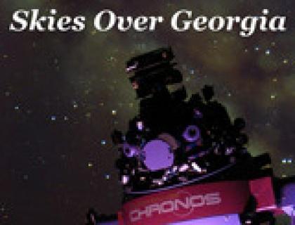 Skies Over Georgia Poster