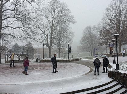 Winter at YHC