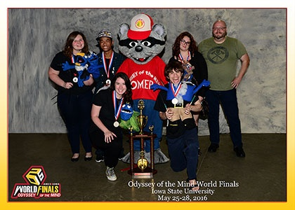 Young Harris College Odyssey of the Mind Wins Second Place at World Finals