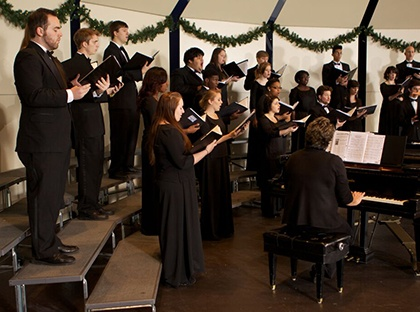 YHC's Concert Band, Concert Choir and Chamber Choir will get into the Christmas spirit at this beloved annual concert.