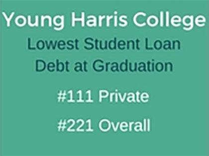 lowest debt badge