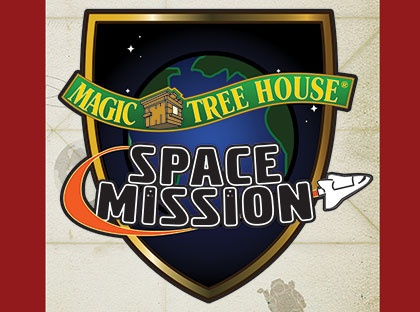 magic tree house space mission logo