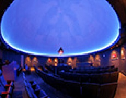 The O. Wayne Rollins Planetarium at Young Harris College