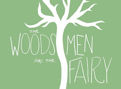 the woodsmen and the fairy logo