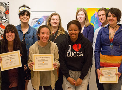 Students within the Young Harris College Department of Art wrapped up the 2016-2017 academic year with two special showings.