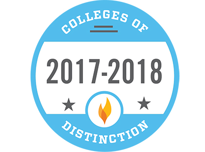 Young Harris College named College of Distinction for seventh consecutive year.